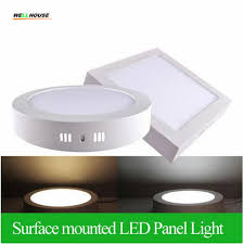 mounted led panel light 6w 12w 18w square led ceiling lights