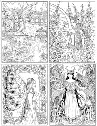 images fairies coloring book adults