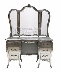unique classic style silver dressing table for hotel buy unique