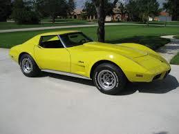 1976 corvette yellow used corvette for sale