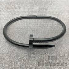 luxury man bracelet images Bracelet quot nail premium version quot silver gold pink gold black 2 jpg