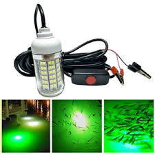 crappie lights for night fishing 12v led underwater submersible night fishing light crappie shad