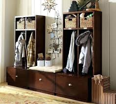 Entryway Bench And Storage Shelf With Hooks Entryway Storage Locker Furniture Full Image For Small Shoe