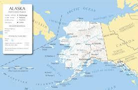 Alaska Canada Map by Hepworth Agency