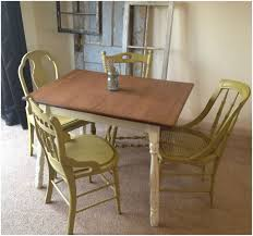 Vintage Kitchen Furniture Kitchen Vintage Porcelain Kitchen Table And Chairs Photo 1 Of 7