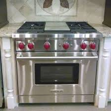 Wolf Downdraft Cooktop Kitchen Best Gr364g Wolf 36 Gas Range 4 Burners And Infrared