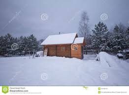 small country house at winter stock photo image 48788703 small country house at winter stock photo