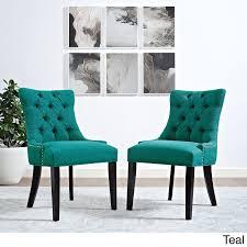 single dining chair modway regent button tufted fabric dining chair single chair