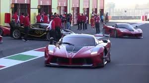 purple laferrari 14x ferrari fxx k at mugello is what dreams are made of video