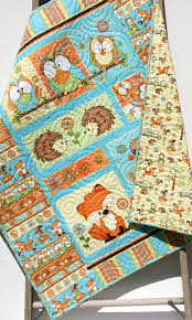 nursery beddings forest friends twin bedding plus friendly fox