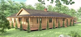 ranch style log home floor plans the cheyenne is a beautiful one story log home floor plan that