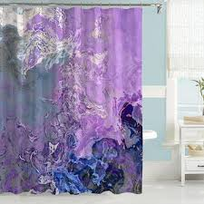 light purple shower curtain best lavender bathroom curtains products on wanelo