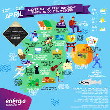Dingle Ireland Map Clever Map Of Free And Cheap Things To Do This Weekend Energia
