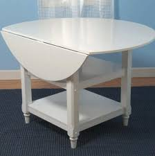 round drop leaf table white modern kitchen tables dining bench