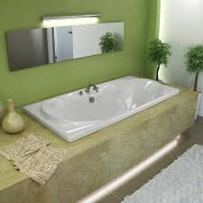 whisper 72 x 36 white soaker tub free shipping today overstock