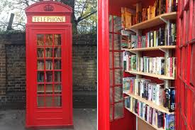 lewisham phone box turned in to london u0027s smallest library london