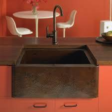 Copper Kitchen Sink by Sinkology Monet 25