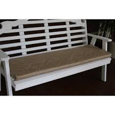 Bench With Cushion A U0026l Furniture Sundown Agora 45 X 17 Seat Cushion Rocking Furniture