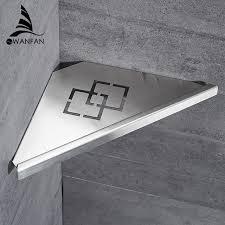 mensola acciaio mensole bagno nichel spazzolato dell acciaio inossidabile 304
