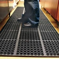 kitchen commercial restaurant mats are drainage with industrial