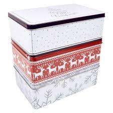 christmas tins wholesale wholesale christmas metal storage tins discount wholesale