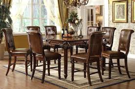 high top dining room table with leaf marble sets height end tables