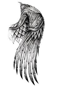 ornate wing by ayeuhone on deviantart