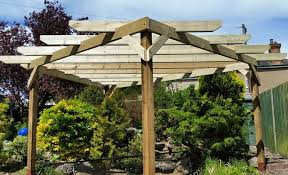 cosy trellis designs for backyards wondrous backyard arbor ideas