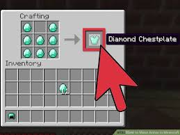 Rare How To Make Video How To Make Armor In Minecraft With Pictures Wikihow