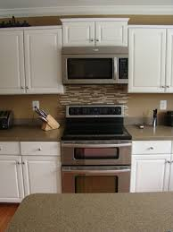 Backsplashes Kitchen Backsplash Ideas For Light Cabinets Images - Backsplash designs behind stove
