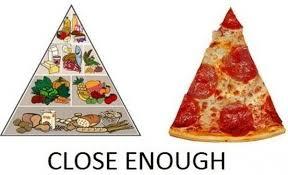 Pizza Meme - close enough pizza is a vegetable know your meme