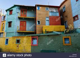 painted houses brightly painted houses in la boca district buenos aires argentina