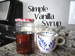how to homemade vanilla syrup in 5 minutes youtube