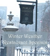 winter weather restaurant specials in boston boston living on