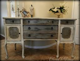 Buffet Cabinets And Sideboards Painted Buffets And Sideboards Antique Hand Painted Buffet