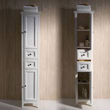 Linen Tower Cabinets Bathroom - furniture tall linen cabinet with hamper bathroom tower unit