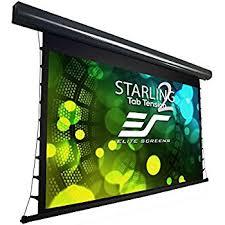 projection screens amazon com amazon com elite screens spectrum tab tension 125 inch 16 9 4k