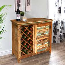 Distressed Wood Bar Cabinet Britain Rustic Teak Wood Wine Bar Buffet Cabinet Buffet Wine