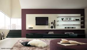 wonderful tv units design in living room and also stylish tv wall
