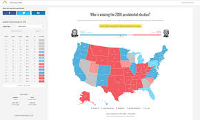 2016 Presidential Usa Election Prediction Electoral Map by Surveymonkey Launches Real Time Polling Map To Showcase Latest