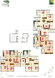 Livia Condo Floor Plan by Green Floor Plans Green Architecture House Plans Green