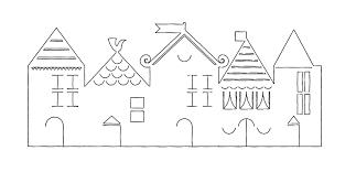 printable model house template printable 3d paper house template printable