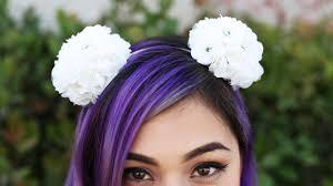 flower headband flower pom pom headband diy