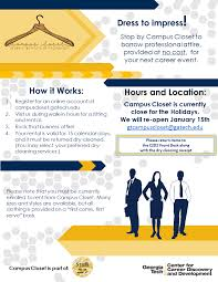 Gatech Campus Map Campus Closet Open C2d2 Georgia Institute Of Technology