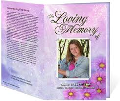 Funeral Program Covers Funeral Program Cover Funeral Programs Cover Design Funeral