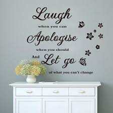 laugh when you can wall stickers home decor art decals vinilo see larger image