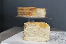 gâteau de crêpes crepe cake the little epicurean