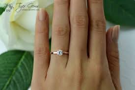 2 carat ring 1 2 ct solitaire engagement ring made diamond simulant