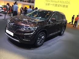 renault suv koleos new renault koleos ii spy shots exclusive images and official