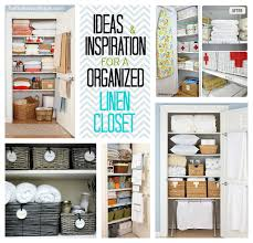 project linen closet clean and organize